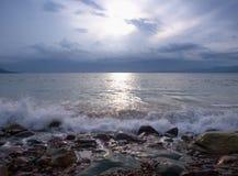 Mer calme Image libre de droits