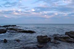 Mer Caspienne photo stock