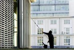 mer cleaner fönster Arkivbilder