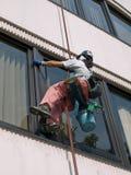 mer cleaner fönster Royaltyfri Fotografi