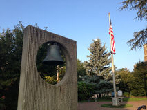 Mer Cliff Library Bell Photo libre de droits