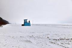 Mer congelée Photographie stock