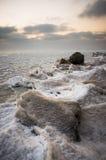 Mer congelée Photo stock