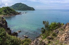 Mer d'été dans Chanthaburi Photographie stock libre de droits