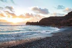 Mer d'îles Canaries images libres de droits