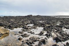 Mer d'îles Canaries image stock