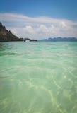 Mer d'Andaman, Krabi Thaïlande Photo stock