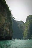 Mer d'Andaman, Krabi Thaïlande Image libre de droits
