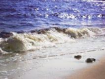 Mer d'andl de plage Photographie stock