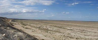 Mer d'Aral, plateau d'Usturt, du sud photo libre de droits