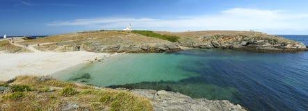 Mer d'en d'ile de belle en Bretagne Photo stock