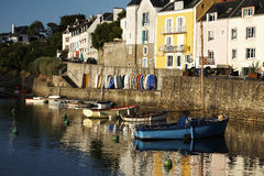 Mer d'en d'ile de belle en Bretagne Photo libre de droits