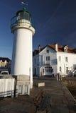 Mer d'en d'ile de belle en Bretagne Photographie stock libre de droits