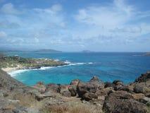 Mer d'Hawaï Photos stock