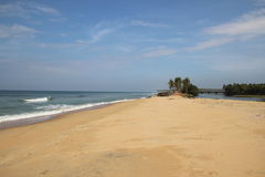 Mer d'Inde Photo libre de droits