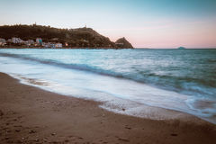 Mer d'octobre Photo libre de droits