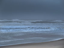 Mer dans la tempête Images stock