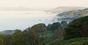 Mer de brouillard Image libre de droits