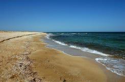 mer de côte Images libres de droits