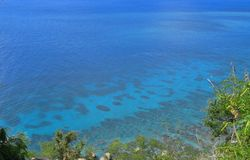 Mer de Caribean Photographie stock libre de droits