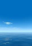 Mer de ciel Images stock