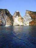 mer de falaise Photos stock