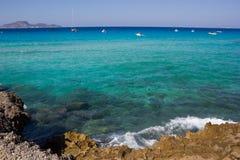 Mer de Favignanas Photo stock