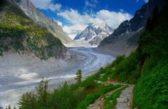 Mer de Glace Royalty Free Stock Image