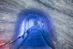 Mer de Glace Cavern Royalty Free Stock Photos