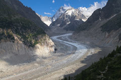 Mer de Glace Royalty Free Stock Photos