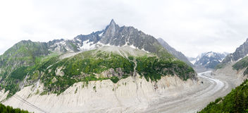 Mer de Glace, Mont blanc Royalty Free Stock Images