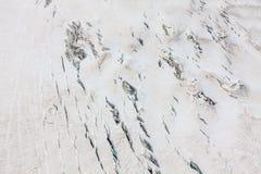 Mer DE Glace (Overzees van Ijs) is een gletsjer op Mont Blanc wordt gevestigd dat Stock Afbeelding
