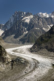 Mer de Glace - Sea of Ice Royalty Free Stock Photo