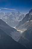 Mer de Glace - Sea of Ice Royalty Free Stock Photos