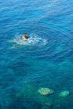 Mer de Kefalonia Photographie stock libre de droits