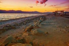 Mer de la Californie Salton Photo libre de droits