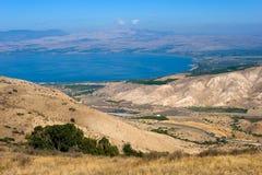 Mer de la Galilée Photo libre de droits