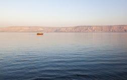 Mer de la Galilée Abaissez la Galilée l'israel Photos stock