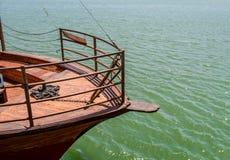 Mer de la Galilée, Israël, vue de bateau Photos stock