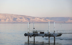 Mer de la Galilée Tibériade Abaissez la Galilée l'israel Photographie stock