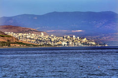 Mer de la Galilée Tibériade Israël photos stock