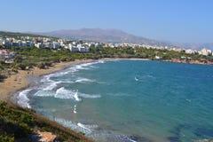 Mer de la Grèce Photos libres de droits