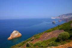 Mer de la Sardaigne Image libre de droits
