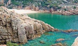 Mer de la Sardaigne Images libres de droits