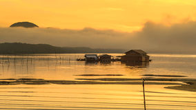 Mer de lever de soleil Photos libres de droits
