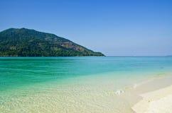 Mer de Lipe Andaman image stock