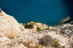 Mer de nature d'été de Leucade Grèce Image stock