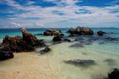 Mer de nature de voyage de la Thaïlande Phuket Photographie stock libre de droits