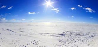 Mer de neige Image libre de droits