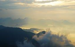 mer de nuage photos libres de droits